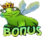 The Super Lucky Frog Bonus Symbol