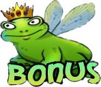 The Super Lucky Frog Bonus Symbol